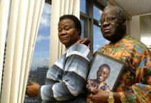 Ibo Chief & Mrs Nwab Iroaga pray for missing son Aju: for Readers Digest