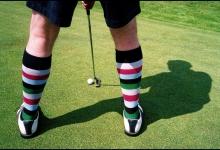 Unpublished golf Illustraton