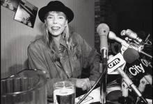 Joni Mitchell at The Hot Stove Lounge for NOW Magazine