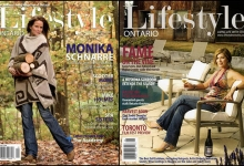 Monika Schnarre and Sonja Smits for Lifestyle Ontario Magazine