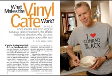 The Vinyl Cafe's  Stuart McLean for Reader's Digest