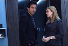 And confab next crisis-Santiago Cabrera and Jennifer Finnigan: Salvation/CBS