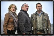 Julie Benz, Graham Greene and Grant Bowler Defiance for SyFy