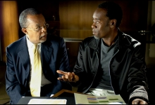 Henry Louis Gates Jr and Don Cheadle in African American Lives/WNET13