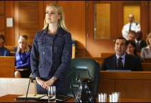 Amanda Schull and Rick Hoffman: Suits for USA Network