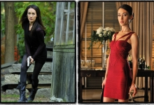 Two sides of Nikita: Maggie Q for The CW/Warner Bros.
