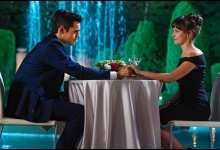Sean Teale and Allison Miller share a Green Zone moment: Incorporated/SyFy