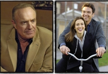 James Caan and Alyssa Milano & Jason Gedrick/ Wisegal for Lifetime Television