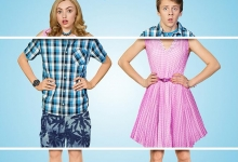Peyton List and Jacob Bertrand trade bodies: THE SWAP for MarVista/©Disney
